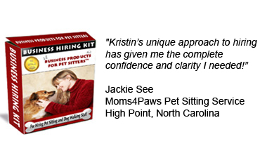 Business Start up Kit for Hiring Pet Sitters and Dog Walkers
