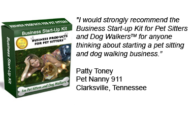 Business Start Up Kit for Pet Sitters and Dog Walkers