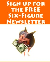 Sign up for the free Six-Figure Pet Sitter Newsletter
