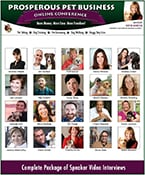2015 Prosperous Pet Business Online Conference