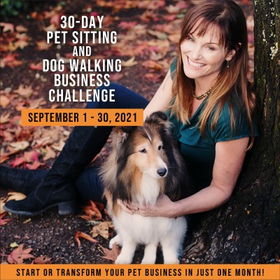30-Day Pet Sitting and Dog Walking Business Challenge