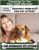 Complete Package for Pet Sitting and Dog Walking Start Up - The Six