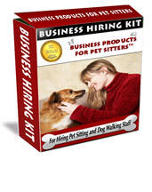 Business Hiring Kit: For Hiring Pet Sitting/Dog Walking Staff™