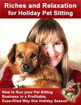 Riches and Relaxation for Holiday Pet Sitting webinar