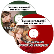 Recording Combination Packet for Pet Sitters: Hiring the Perfect Staff Members and R & R for Holiday Pet Sitting