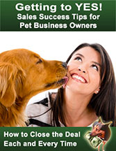 Sales Success Tips for Pet Business Owners