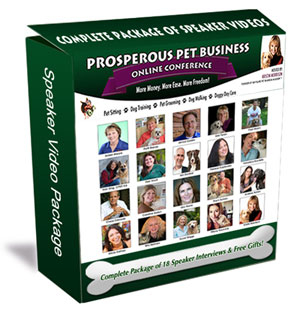 Pet Sitting Business Speakers Video Package